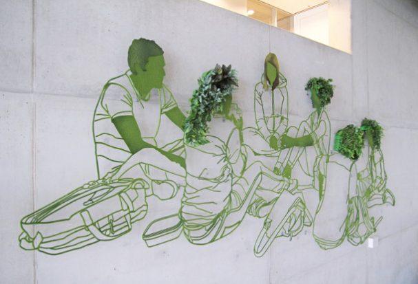Grow: groene graffiti in Wageningen