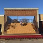 Winkelpui wordt theater in klein stadje in Nebraska