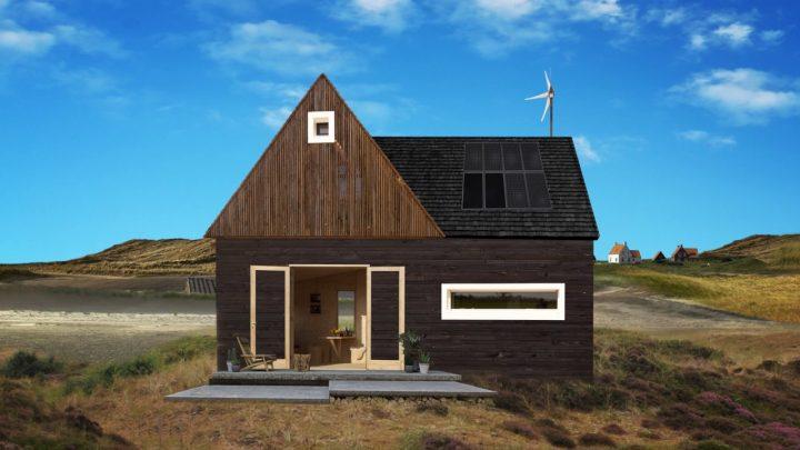 Beweegbare huizen op Texel