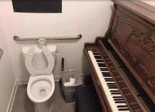 Piano wc