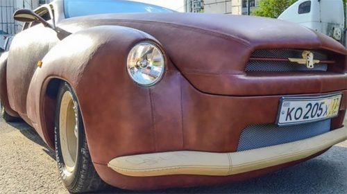 auto van leer