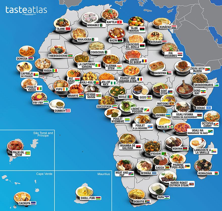 keuken van Afrika