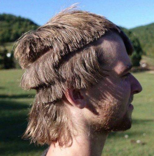 naar de kapper geweest