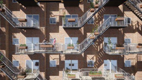 sociale balkons