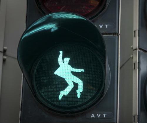 Elvis stoplicht