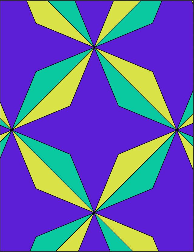 geometrische tegel