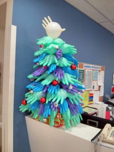 ziekenhuis kerstboom