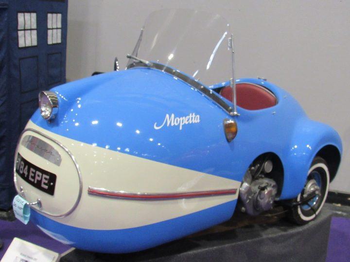 De Brütsch Mopetta: de allerkleinste auto ter wereld