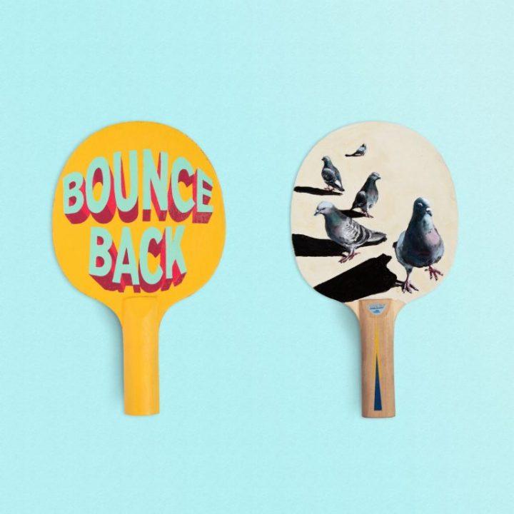 Ping Pong kunst om geld in te zamelen