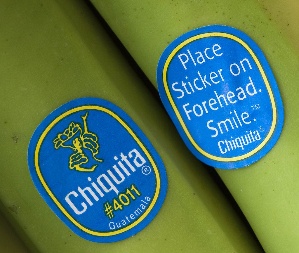 bananen  sticker museum.