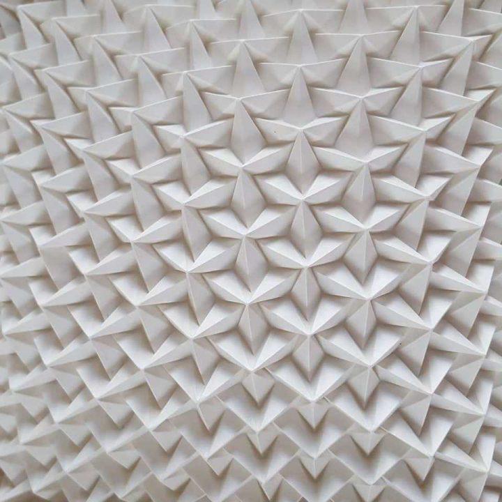 Beeldhouwen met papier