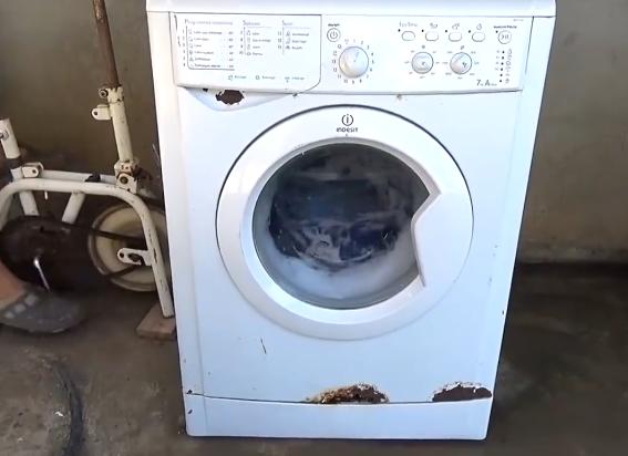 low tech wasmachine