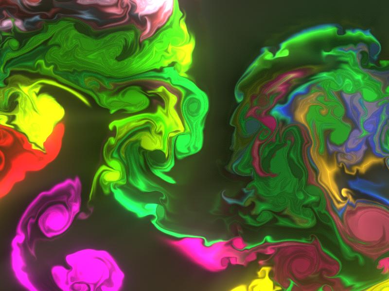 vloeibare kleurtjes