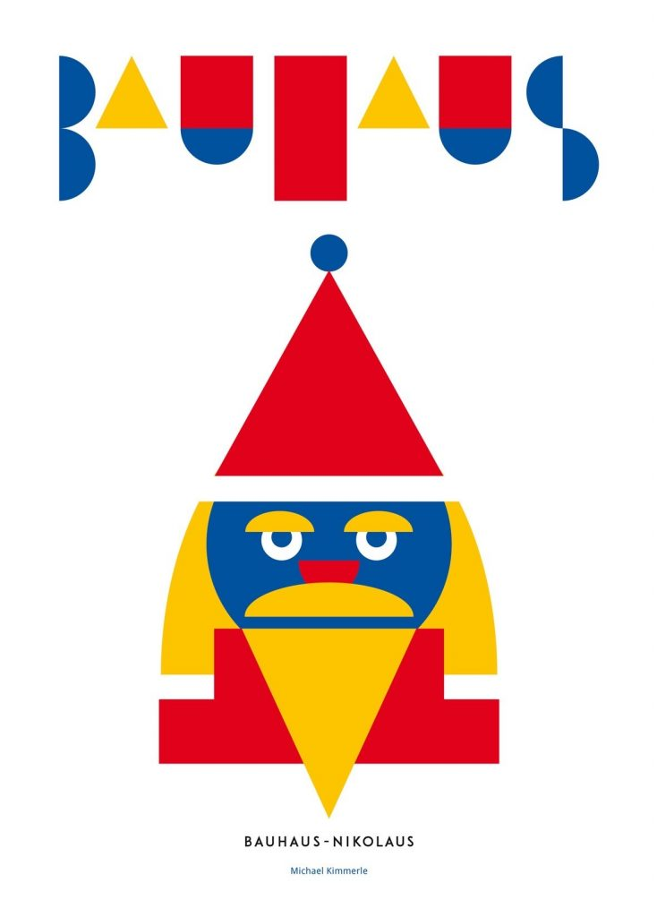 Bauhaus kerstman