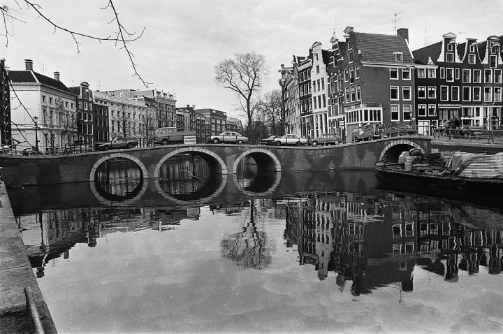 Hippe grachten van Amsterdam