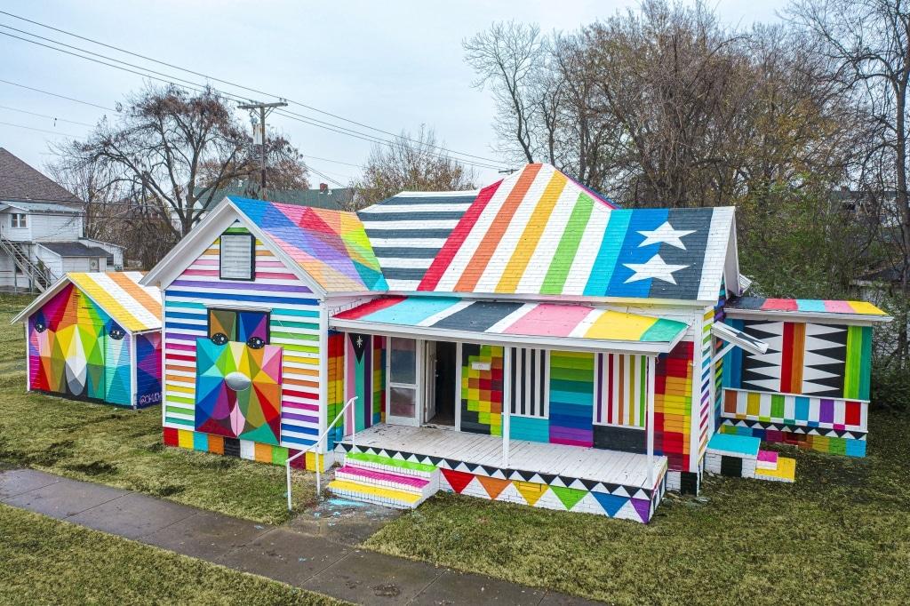 regenboog huis