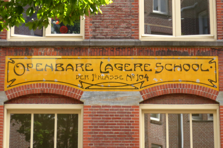 Typografie van Amsterdam verzameld