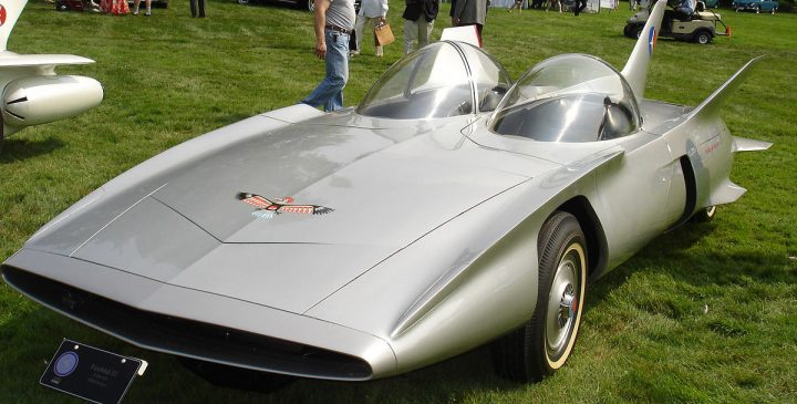 Firebird III: Science fiction auto uit 1958
