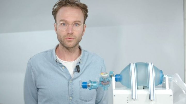 VentilatorPAL: Noodoplossing voor tekort beademingsapparatuur