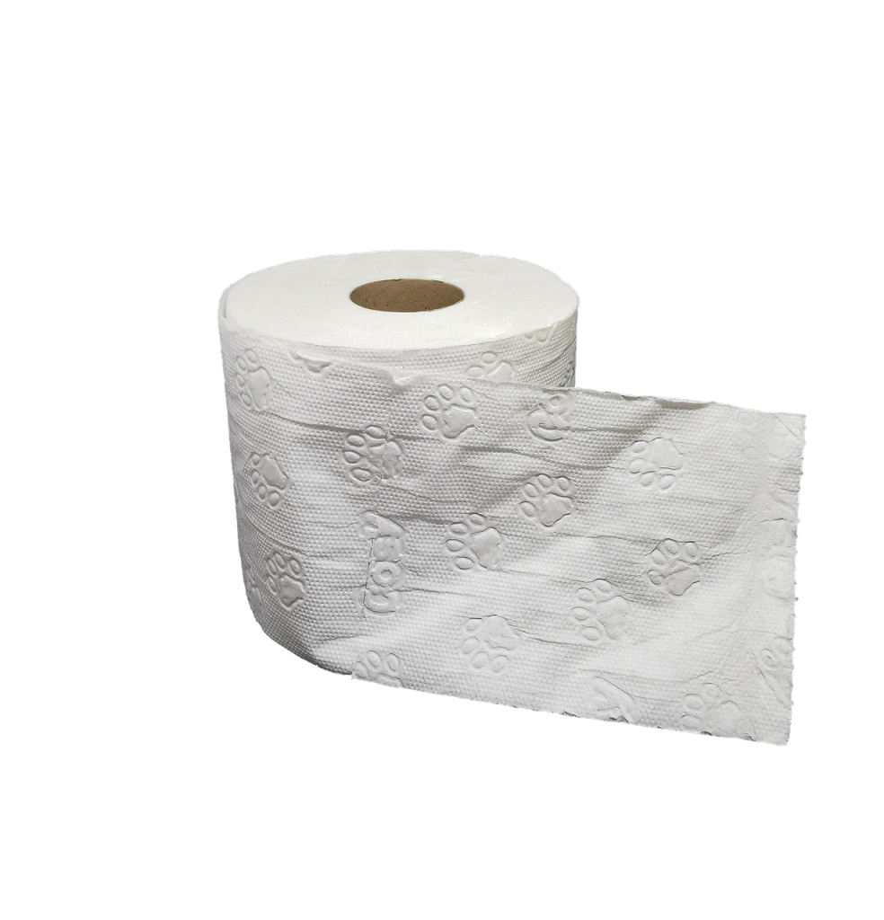 Hoeveel toiletpapier?
