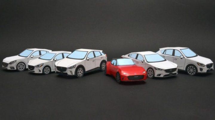 Vouw je eigen Mazda
