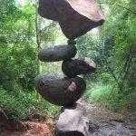 De kunst van het stenen balanceren