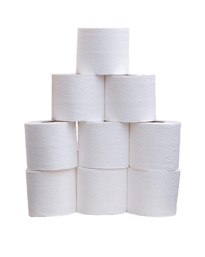 Toiletpapier gaat de wereld rond