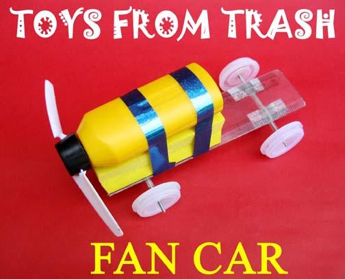 Speelgoedmaker Arvind Gupta maakt speelgoed van afval