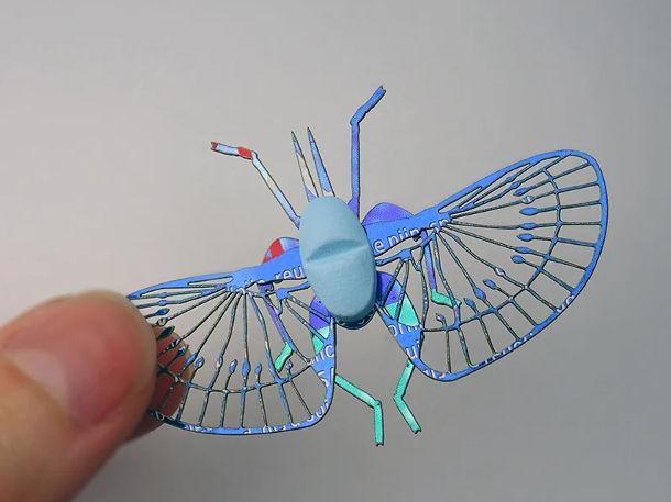 insect gemaakt van pillen