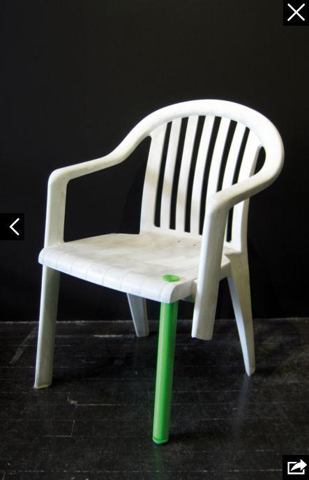 Monobloc stoel