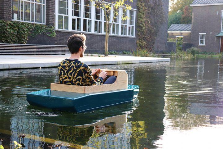 Tinyboat: privéjacht voor in je eentje