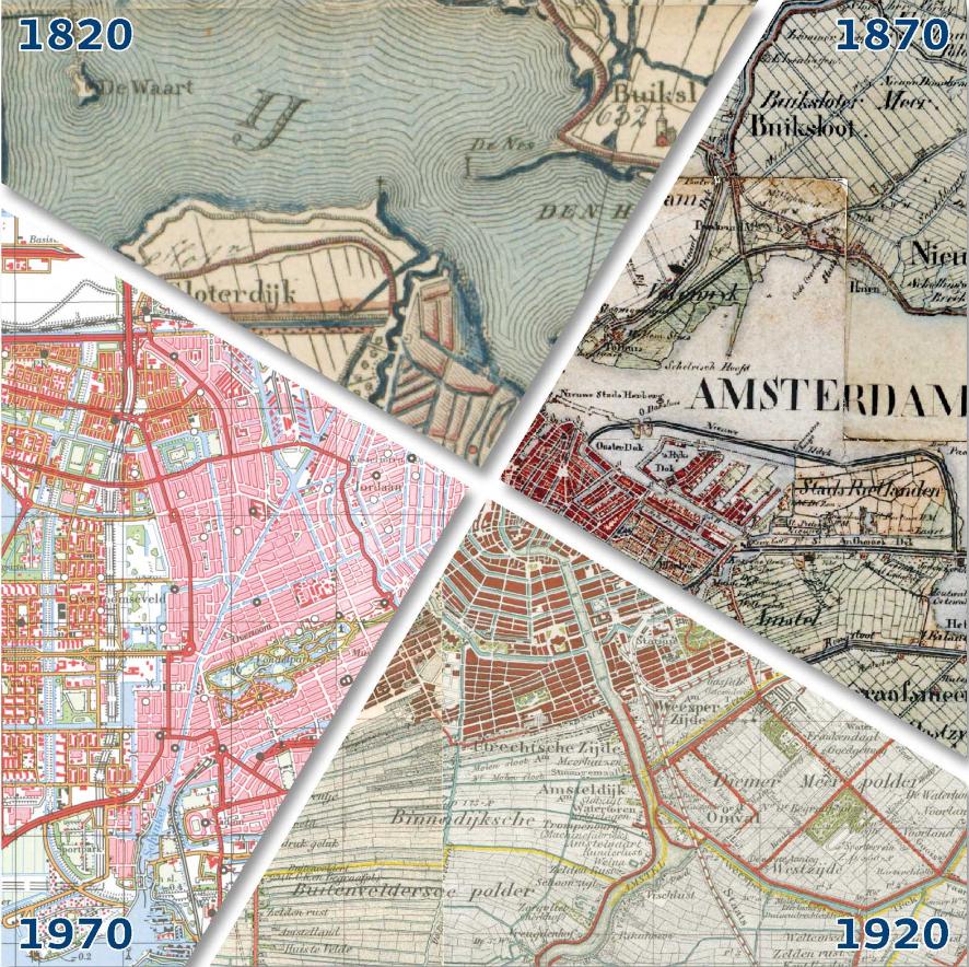 200 jaar topografie