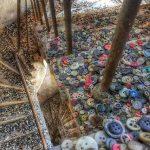 Verlaten knopenfabriek in Athene