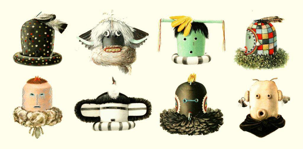 Zuni maskers